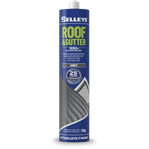 Selleys 310g Roof And Gutter Silicone - Grey - 100623