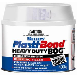 Selleys Plastibond 400g Heavy Duty Bog - 930069712170701