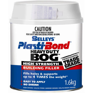 Selleys Plastibond 1.6Kg Heavy Duty Bog - 930069712172101