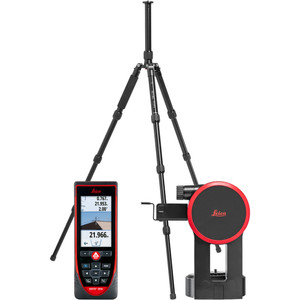 Leica Disto S910 Package Includes TR120 Tripod, FTA360-S, and Heavy Duty Rugged Case - LG887900
