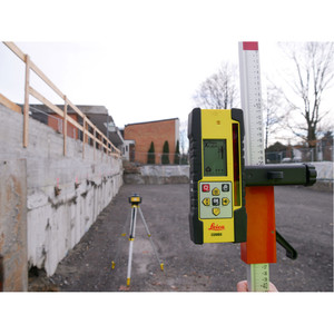 Leica Chameleon Rugby Red Beam Construction Laser Level Kit - CLA With CLX250 - LG6012281