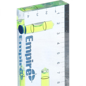 Empire 96mm Clear View Acrylic Pocket Level - EMCV90