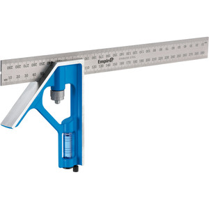 Empire 300mm True Blue™ Stainless Steeel Combination Square - E250M