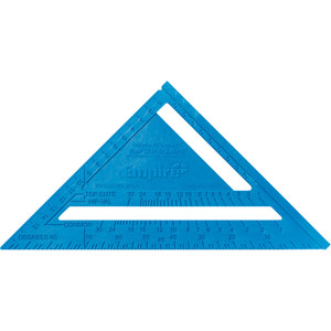 Empire 180mm Metric Polycast Rafter Square - 296M