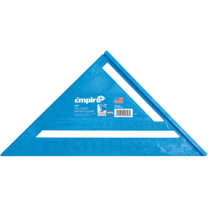 """Empire 12"""" Imperial PolyCast Rafter Square - 396"""