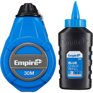 Empire ABS Chalk Reel with 3oz Blue Chalk - ABSCR31-BC