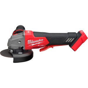 """Milwaukee M18 FUEL™ 125 mm (5"""") Braking Angle Grinder with Deadman Paddle Switch - M18FAG125XPDB-0"""