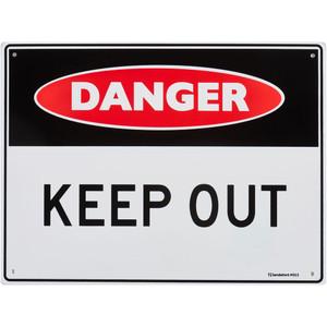 Sandleford Sign 300X225mm Danger Keep Out - MS13