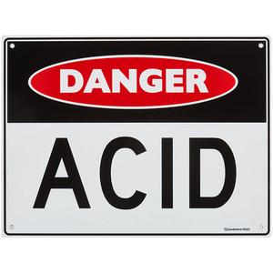 Sandleford Sign 300X225mm 'Danger Acid - MS21
