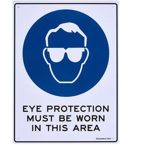 Sandleford Sign 225mmx300mm Eye Protection Mbw - MS24