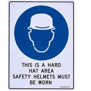 Sandleford Sign 225X300mm Hard Hat Mbw - MS25