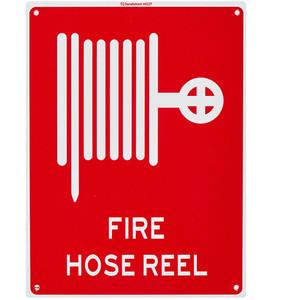 Sandleford Sign 225X300mm Fire Hose Symbol - MS37