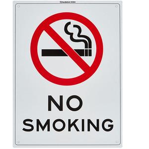 Sandleford Sign 225X300mm No Smoking - MS64