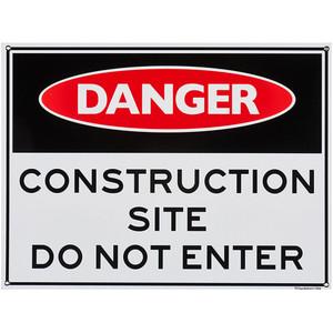 Sandleford Ky-Sign 450X600mm Construct Site - LS04