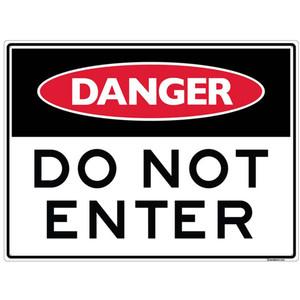Sandleford Ky-Sign 300X450mm Do Not Enter - LS13