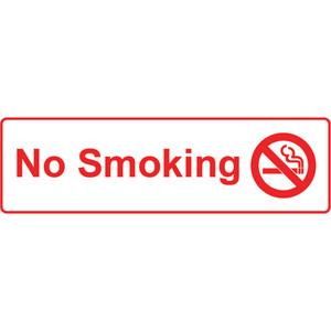 Sandleford Sign S/Adh 330X110mm No Smking - SIG231