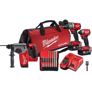 Milwaukee M18 FUEL™ 3 Piece Power Pack 3R2 - M18FPP3R2-502B