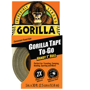Gorilla Tape Black 25.4mm X 9M - GG61001