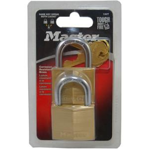 Master Lock Padlock Dia Br 40mm 22mm 2Pk - 140TAU