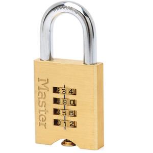 Master Lock Padlock Comb Reset Br 50mm M/L - 651DAU