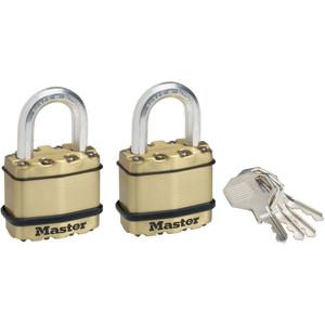 Master Lock Padlock Exl Lam 45mm 25mm Shk - M1BTAU