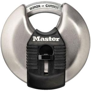 Master Lock Padlock Exl S/S Disc 70mm - M40DAU