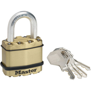 Master Lock Padlock Exl Lam 50mm 25mm Shk - M5BDAU