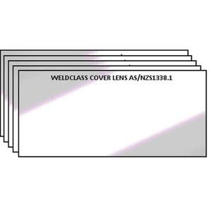 Weldclass Lens-Clear 108X51mm CR39 Style Pk5 - P7-CL39/5