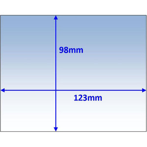 Weldclass Lens-Outer 123X98mm T/S Cig Prolite Pk10 - WC-05157