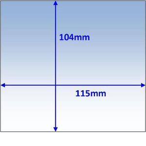Weldclass Lens-Outer 115X104mm Promax 180/200/350 - WC-05323