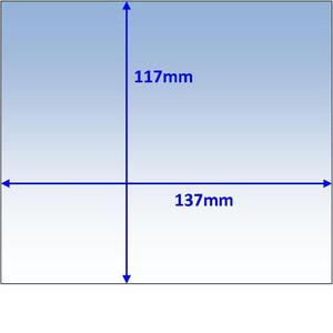 Weldclass Lens-Outer 137X117mm Promax 500 Pk10 - WC-05324