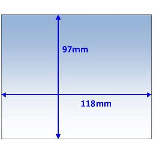 Weldclass Lens-Outer 118X97mm T/S Unimig Vipr Pk10 - WC-06027