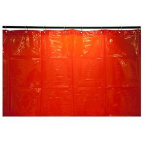 Weldclass Welding Curtain Red 1.8X2.0 M - 7-1820R