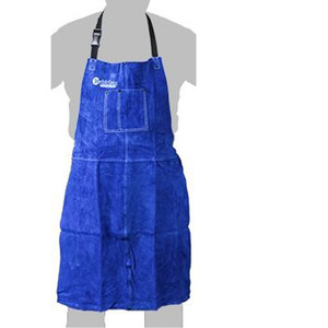 Weldclass Apron -Leather Promax Blue 900 X 600mm - WC-01753