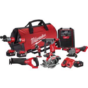 Milwaukee M18 FUEL™ 8 Piece Power Pack 8B2 - M18FPP8B2-503B