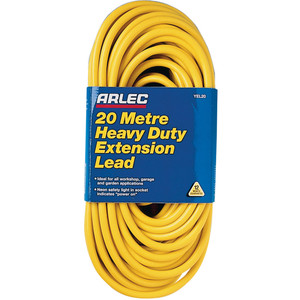 Arlec Heavy Duty Extension Lead 20 Metres - YEL20