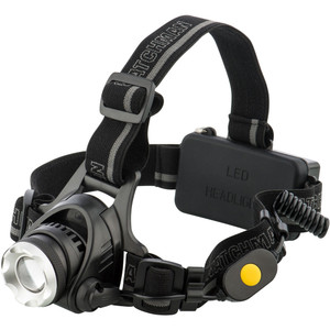Arlec 300 Lumen LED Head Torch With Hard Hat Compatibility - AT0034
