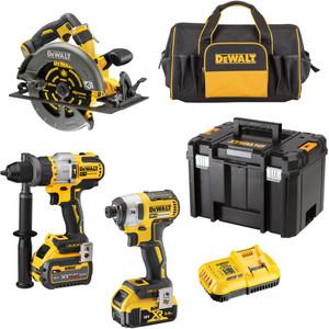 DeWalt 18V/54V XR Mixed Voltage 3 Piece Kit - 5.0Ah/9.0Ah - DCZ357P1X1T-XE