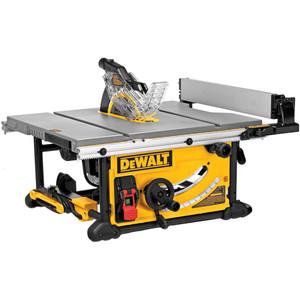 "DeWalt Portable Table Saw 254mm (10"") 2000W with Bonus Saw Stand - DWE7491-XE"