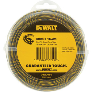 DeWalt Line Trimmer Line 2mm x 15.2m - DT20650-QZ