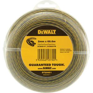 DeWalt Line Trimmer Line 2mm x 68.6m - DT20651-QZ