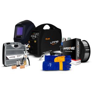 Unimig RAZOR 200 MIG/STICK Welder Starter Pack - PK11026