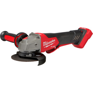 """Milwaukee M18 FUEL™ 125 mm (5"""") Variable Speed Braking Angle Grinder with Deadman Paddle Switch - M18FAGV125XPDB-0"""