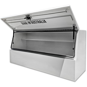 ToolVault White Steel Tool Box 1500 x 500 x 700 - TVHS1500W