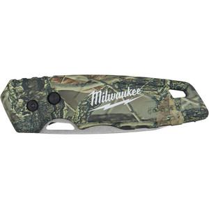 Milwaukee Fastback Folding Camo Knife - 48221524