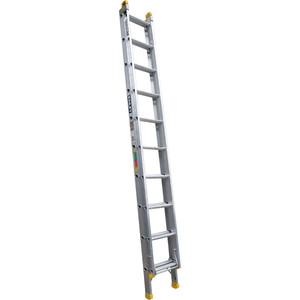Bailey Pro Aluminium Extension ladder 3.1m/5.3m (10) 150kg industrial - FS13898