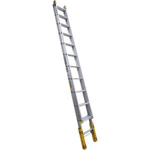 Bailey Pro Aluminium Extension ladder 3.7m/6.2m (12) Leveller 150kg industrial - FS13906