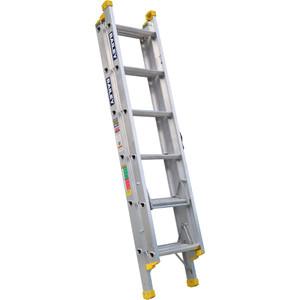 Bailey Pro Aluminium Triple Ext ladder 1.9m/4.3m (6) Leveller 150kg industrial - FS13908