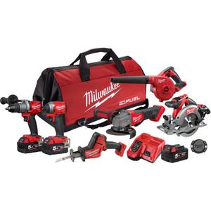 Milwaukee M18 FUEL™ 6 Piece Power Pack 6F2 - M18FPP6F2-503B