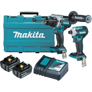 Makita 18V Brushless 2 Piece Combo Kit - DLX2411G
